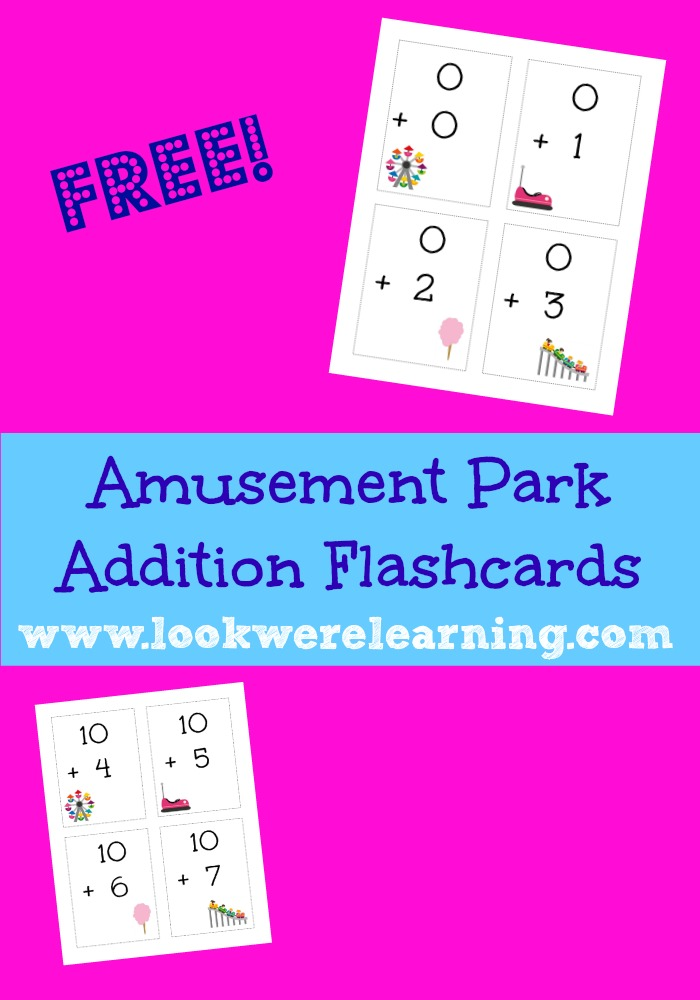Free Printable Flashcards Addition Facts - Look! We're Learning!