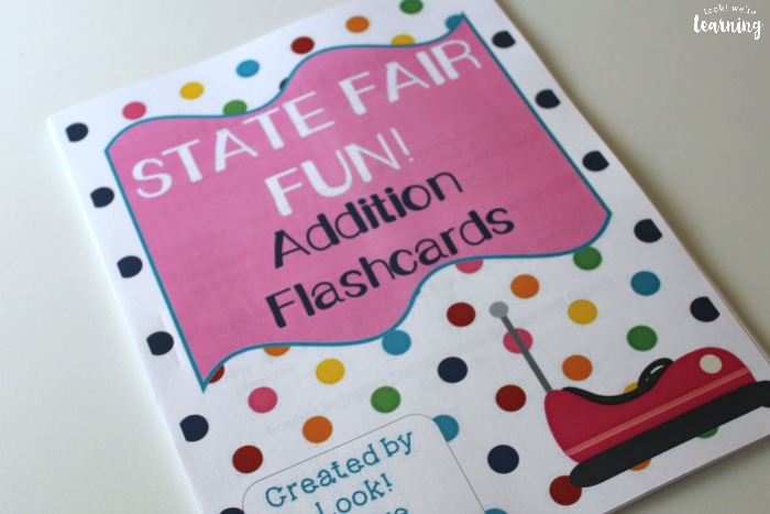 Printable Addition Fact Flashcards