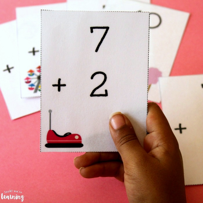 Printable Addition Flashcards for Kids