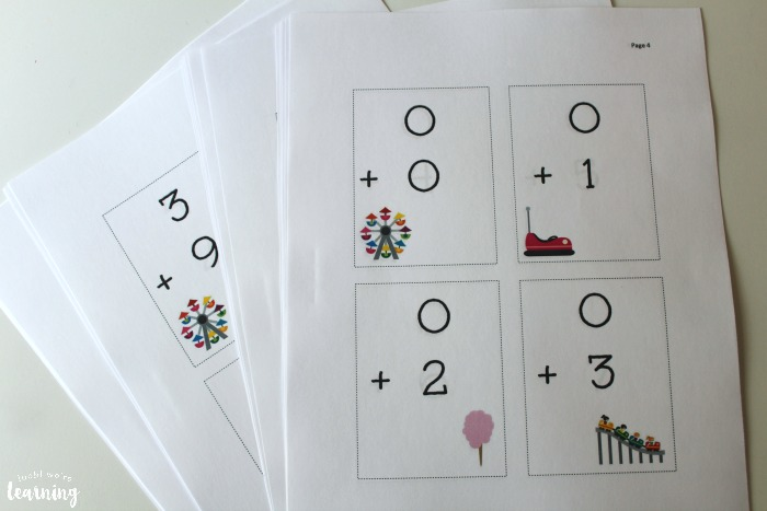 Printable Addition Flashcards