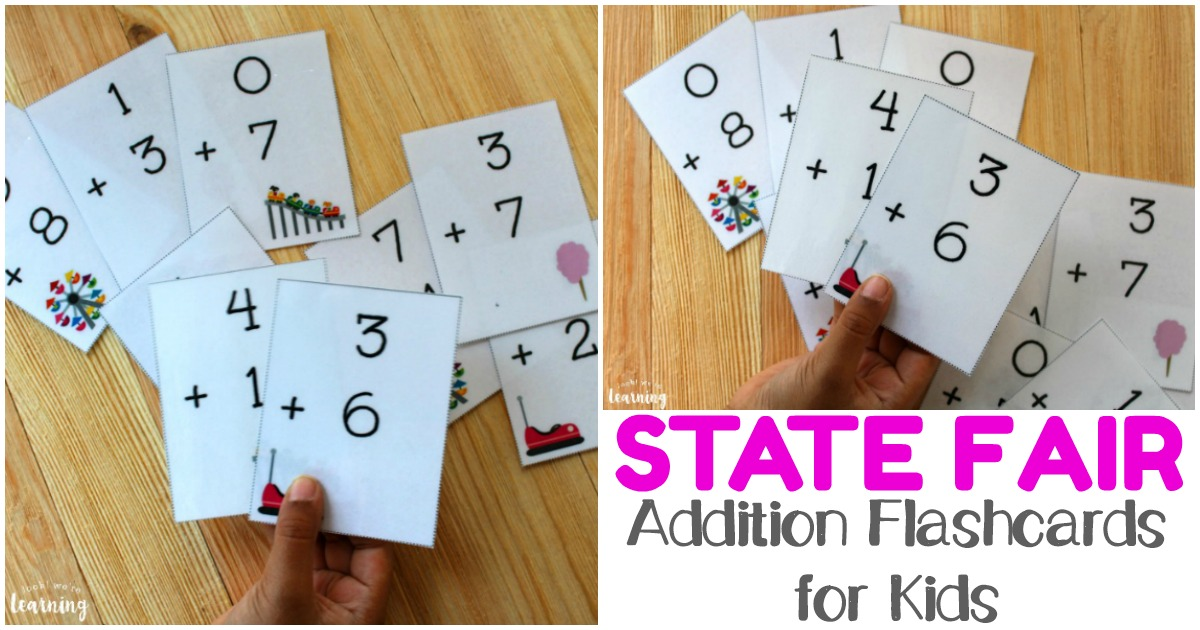 These cute addition flashcards 0-10 are perfect for math practice!
