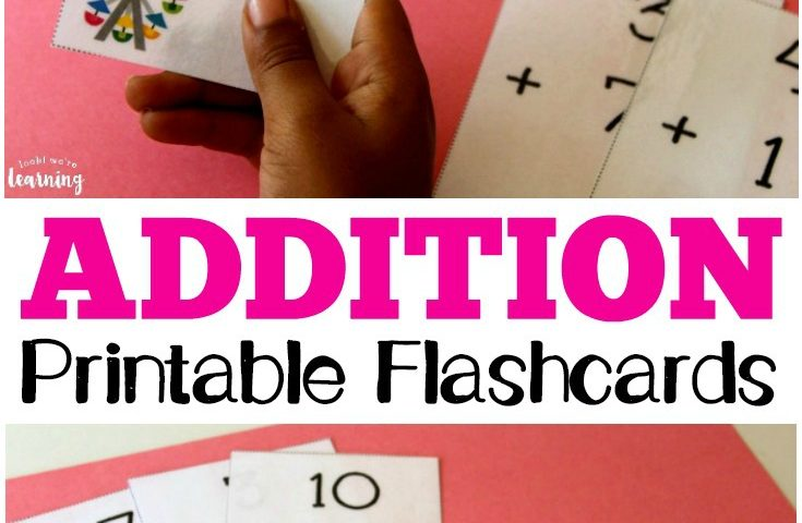 Free Printable Flashcards: Addition Flashcards 0-10