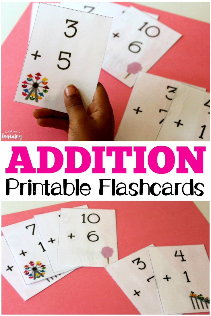 photo regarding Making 10 Games Printable titled No cost Printable Flashcards: Addition Flashcards 0-10