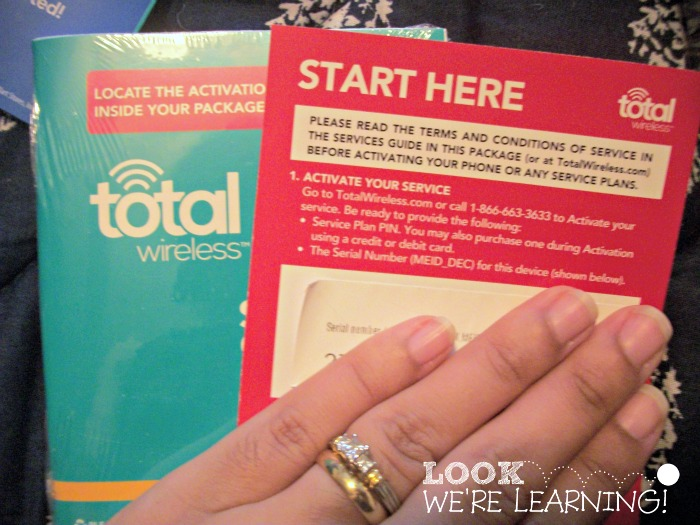 Total Wireless Activation Code