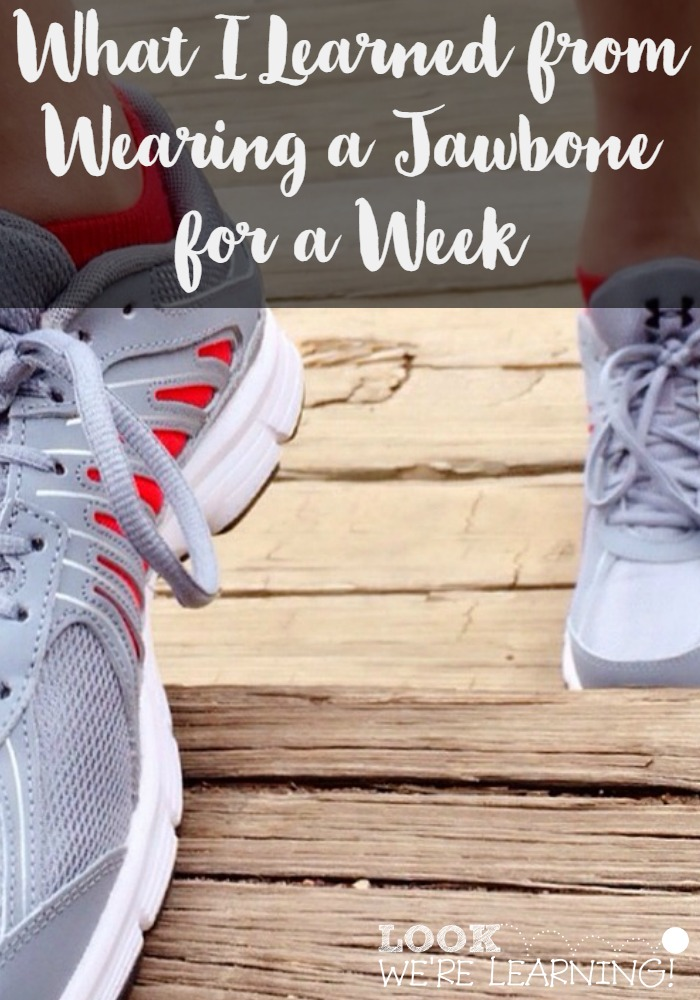 What I Learned from Wearing a Jawbone for a Week - Look! We're Learning!