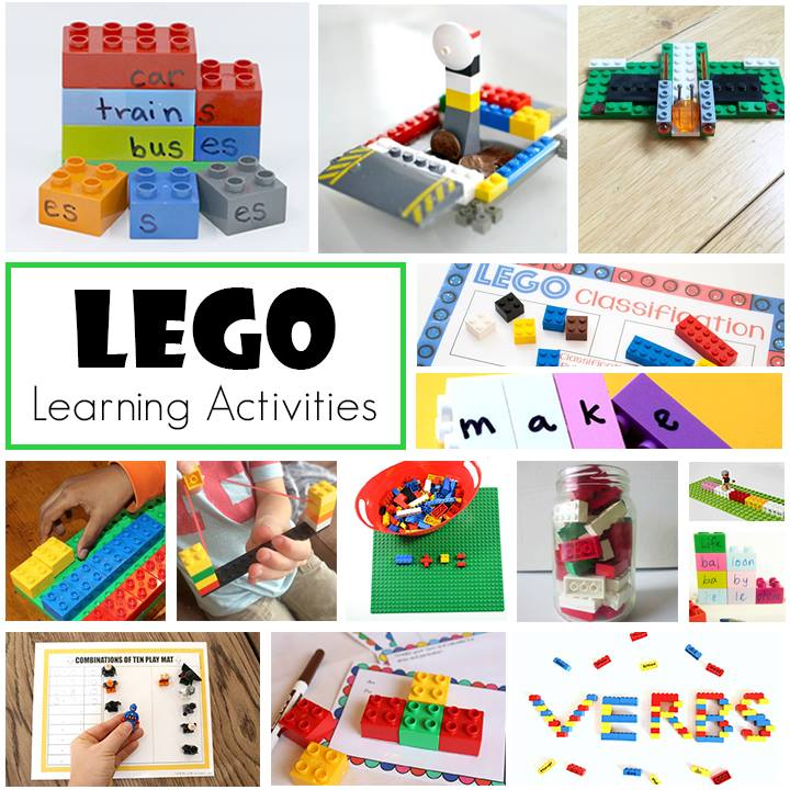 LEGO Learning Activities from the Early Elementary Blogging Team