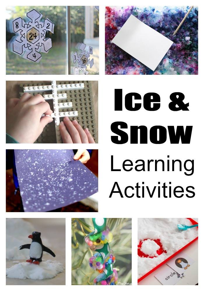 Ice and Snow Learning Activities