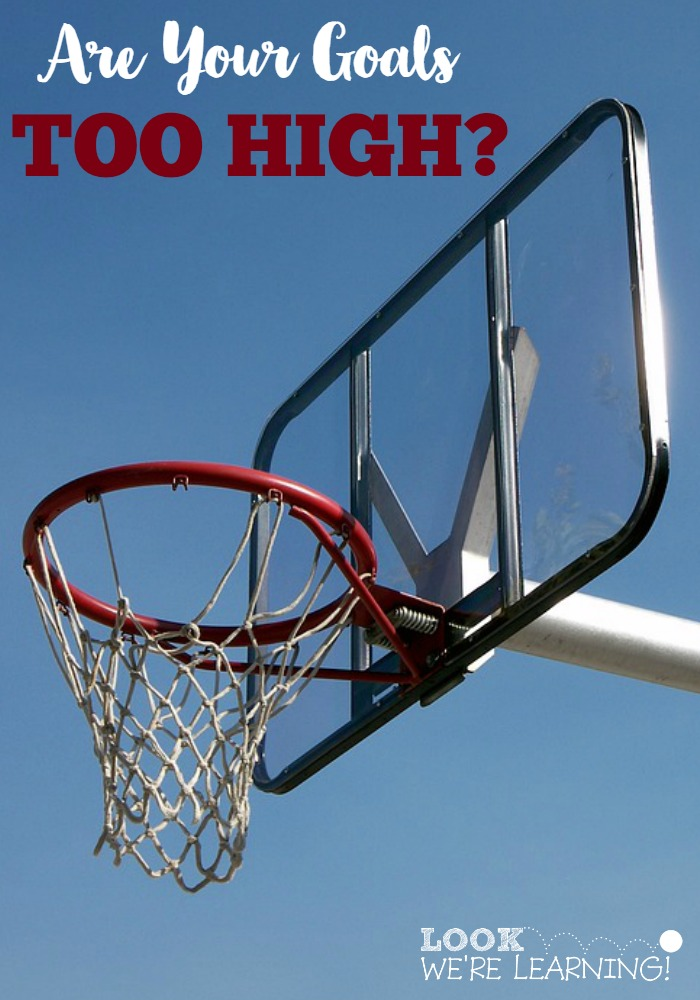 Are You Setting Goals Too High