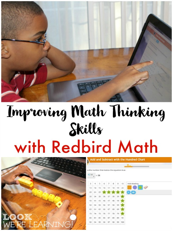 Improving Math Thinking Skills with Redbird Math