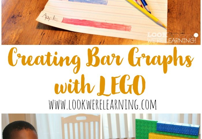 Lego Bar Graphs for 1st Grade