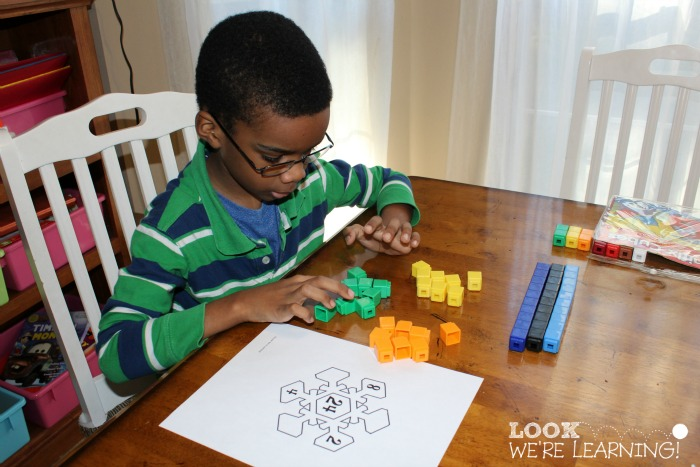 Making Equal Groups with Unifix Cubes