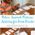 Polar Animal Pattern Activity for First Grade @ Look! We're Learning!