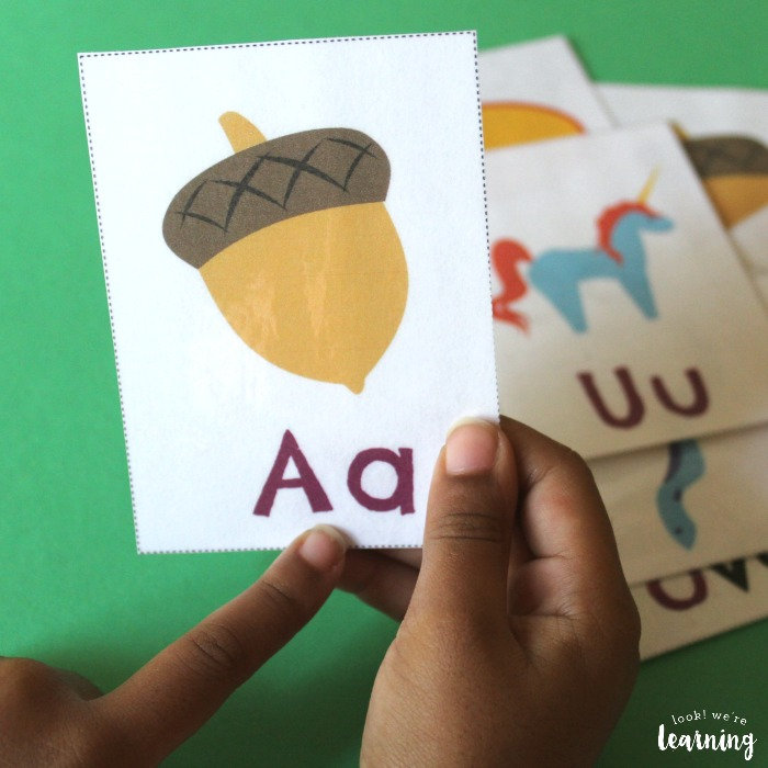 Printable Long Vowel Flashcards for Kids