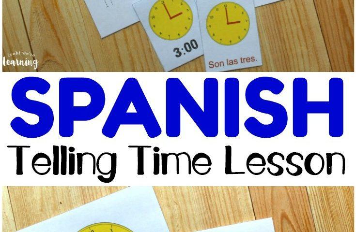 Spanish Worksheets for Kids: Spanish Telling Time Worksheets