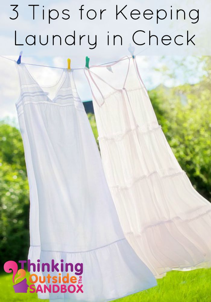 3 Tips for Keeping Laundry in Check