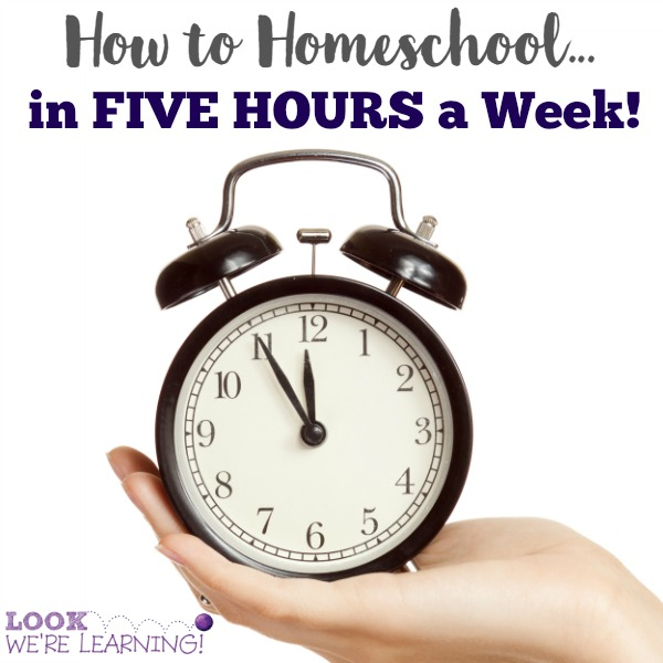 Homeschool in Five Hours a Week