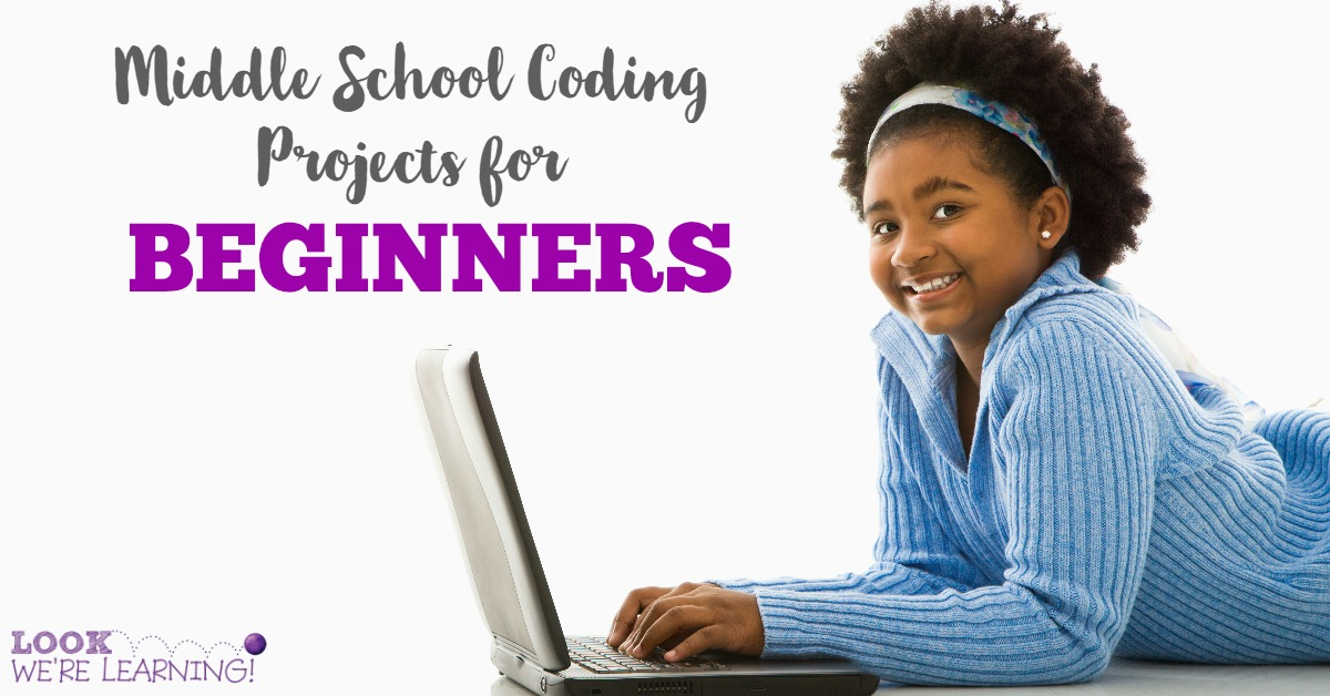 Middle School Coding Projects for Beginners FB