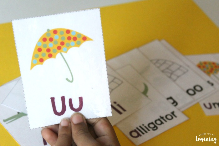 Practicing Phonics with Printable Short Vowel Flashcards