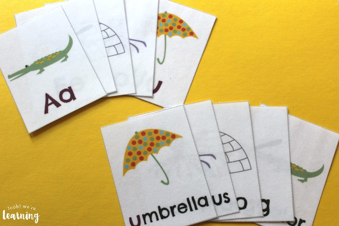 Printable Short Vowel Flashcards for Kids