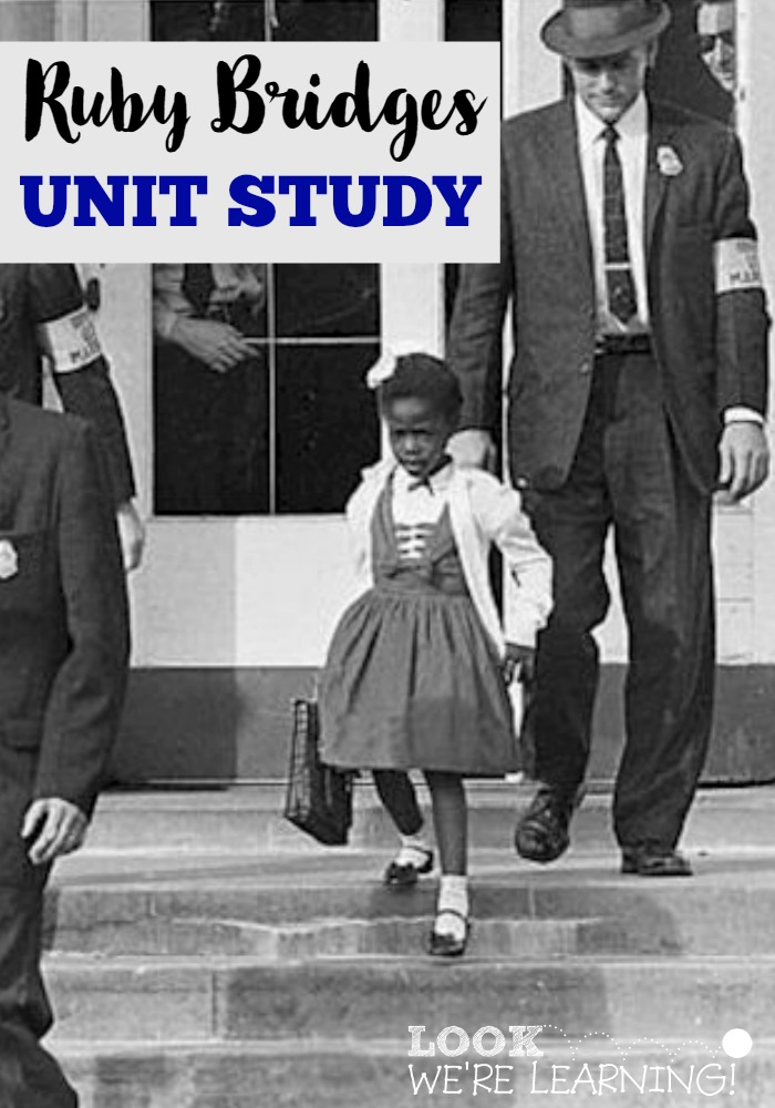 Homeschool Unit Studies: Ruby Bridges Unit Study