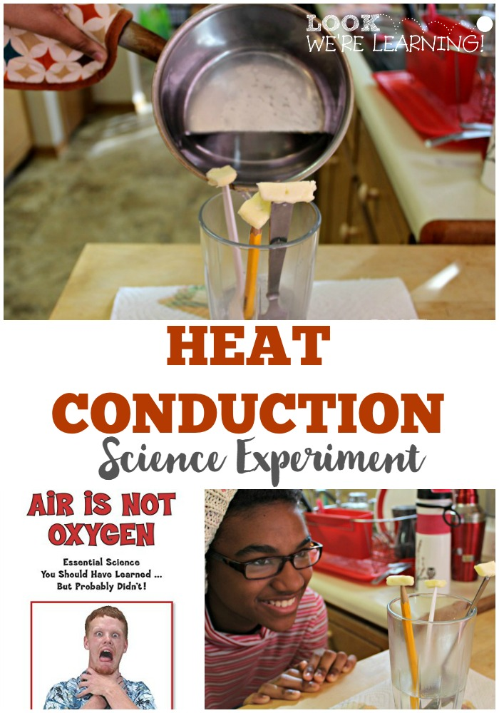 Simple Heat Conduction Experiment