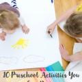 Ten Minute Preschool Activities