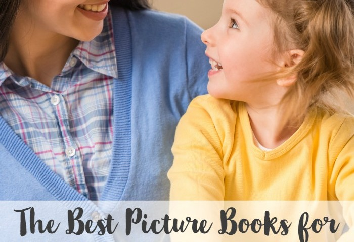 The Best Picture Books for Three Year Olds