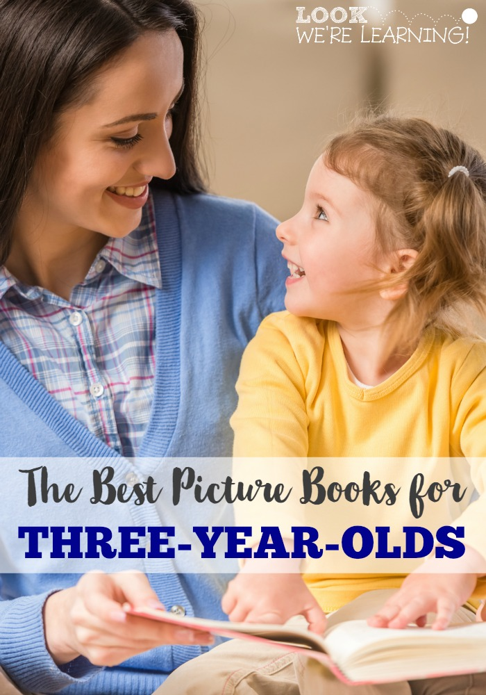 The Best Picture Books for Three-Year-Olds