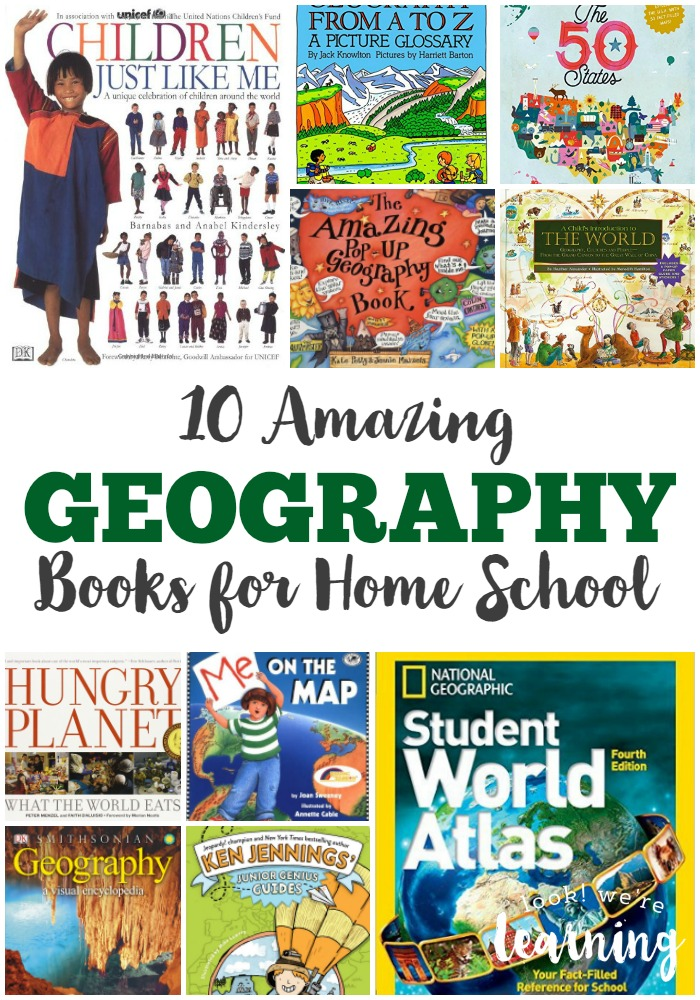 10 Amazing Geography Books for Home School