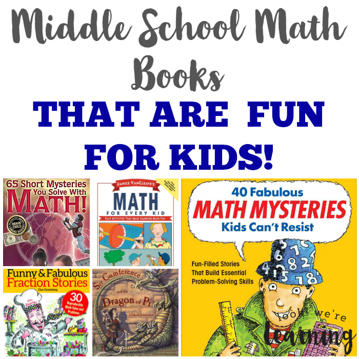 10 Fun Math Books for Middle School