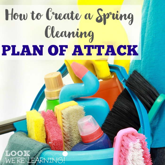 Create a Spring Cleaning Plan of Attack