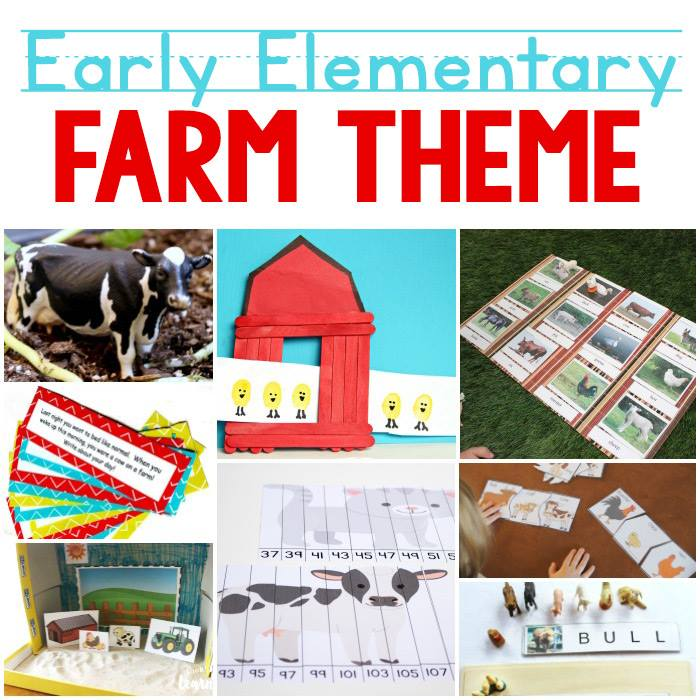 Early Elementary Farm Theme