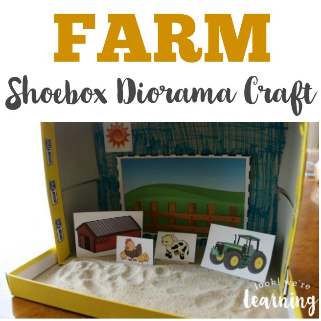 Farm Shoebox Diorama Craft