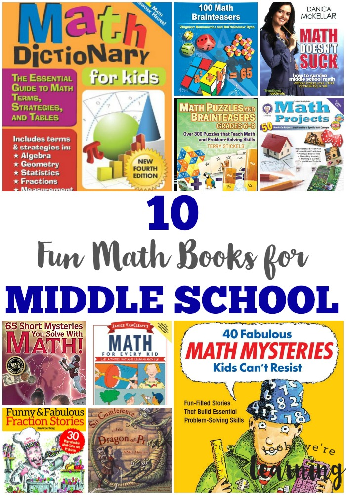Fun Math Books for Middle School