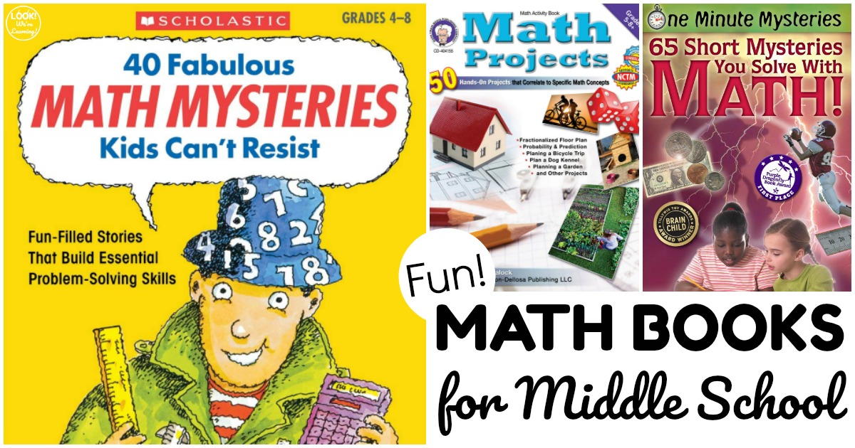 Fun Math Books for Middle Schoolers