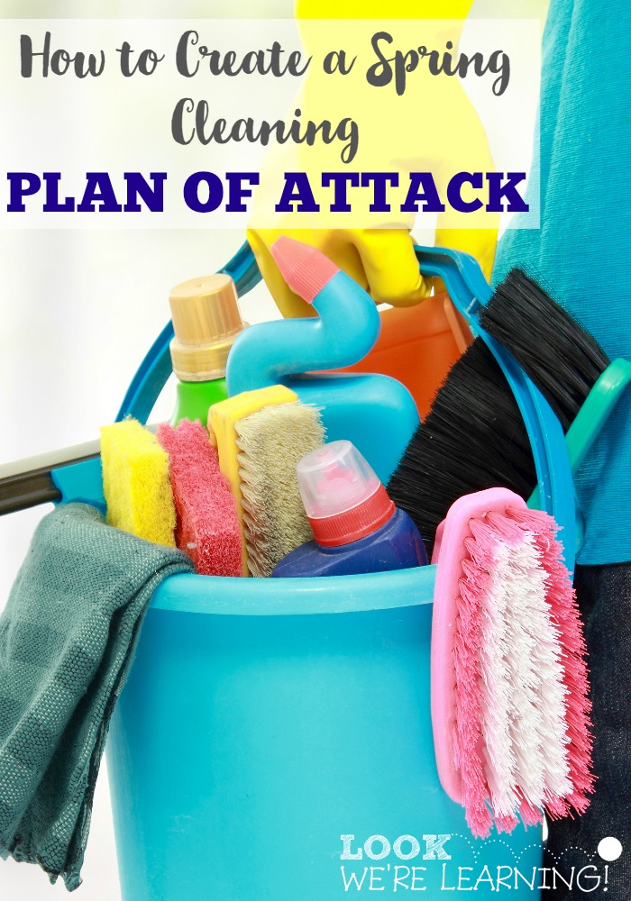 How to Create a Spring Cleaning Plan of Attack