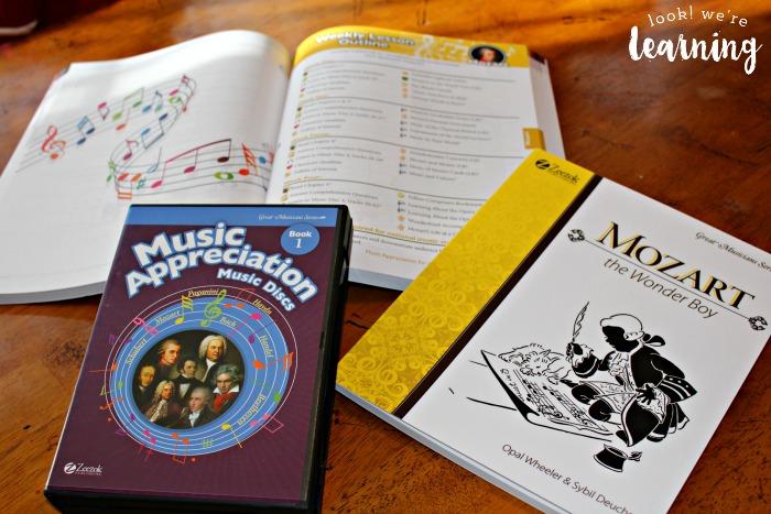 Mozart Composer Study Materials