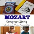 Mozart Composer Study for Kids