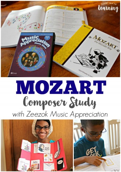 Mozart Composer Study for Kids