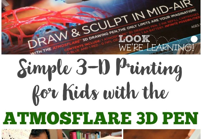 Simple 3D Printing for Kids with Atmosflare!