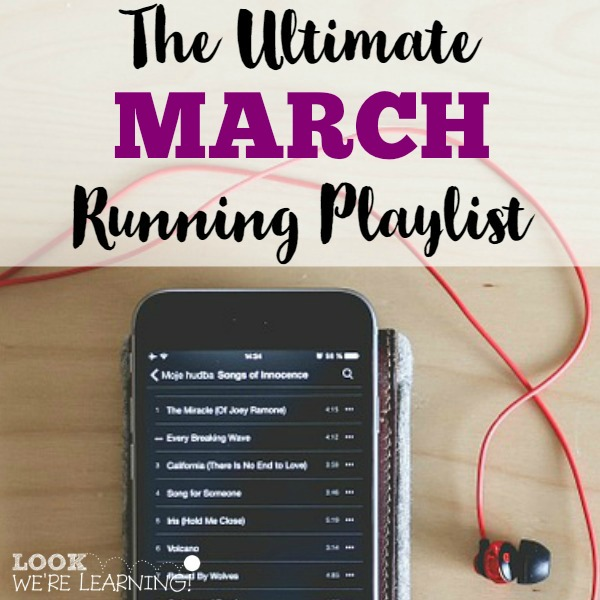 The Ultimate March Running Playlist