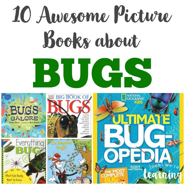 10 Picture Books about Bugs