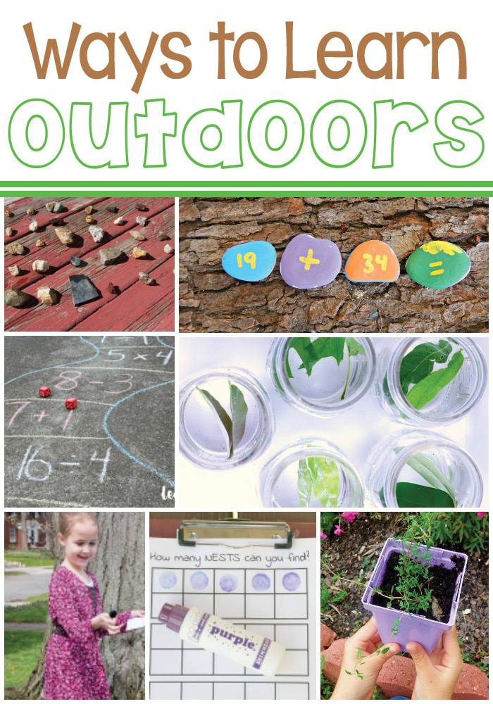 Ways to Learn Outdoors