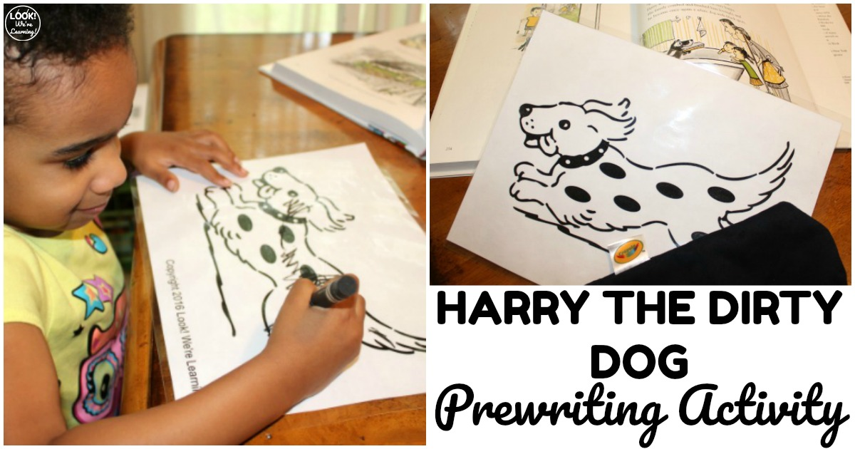 Fun Harry the Dirty Dog Activity for Toddlers