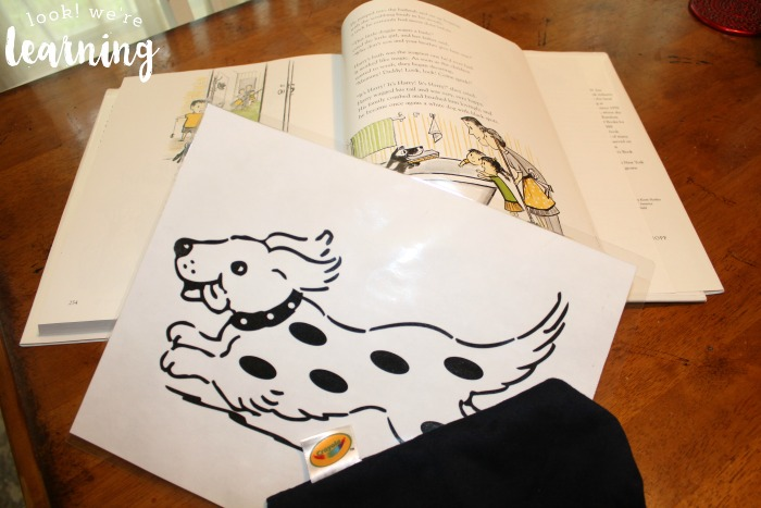 Harry the Dirty Dog Activity for Toddlers