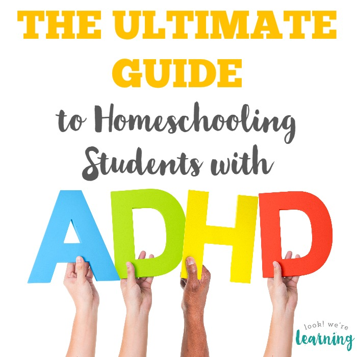 Homeschooling ADHD Students