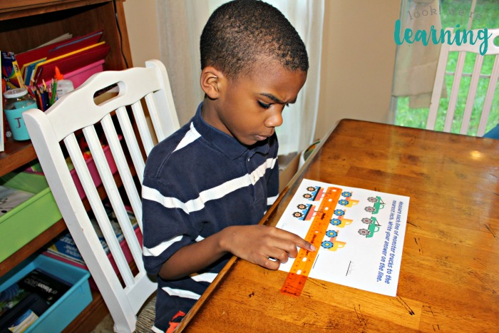 Measurement for First Grade Printables Activity