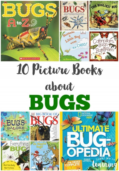 10 Kids' Picture Books about Bugs