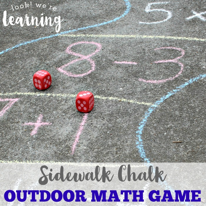 Simple Outdoor Math Game