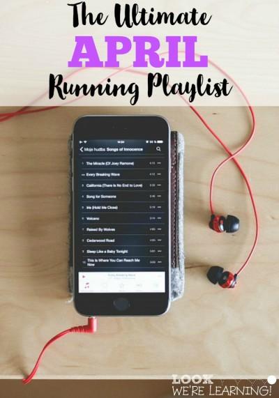Couch to Marathon: April Running Playlist